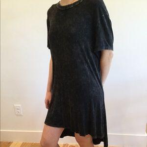 Backless Tee Shirt Dress